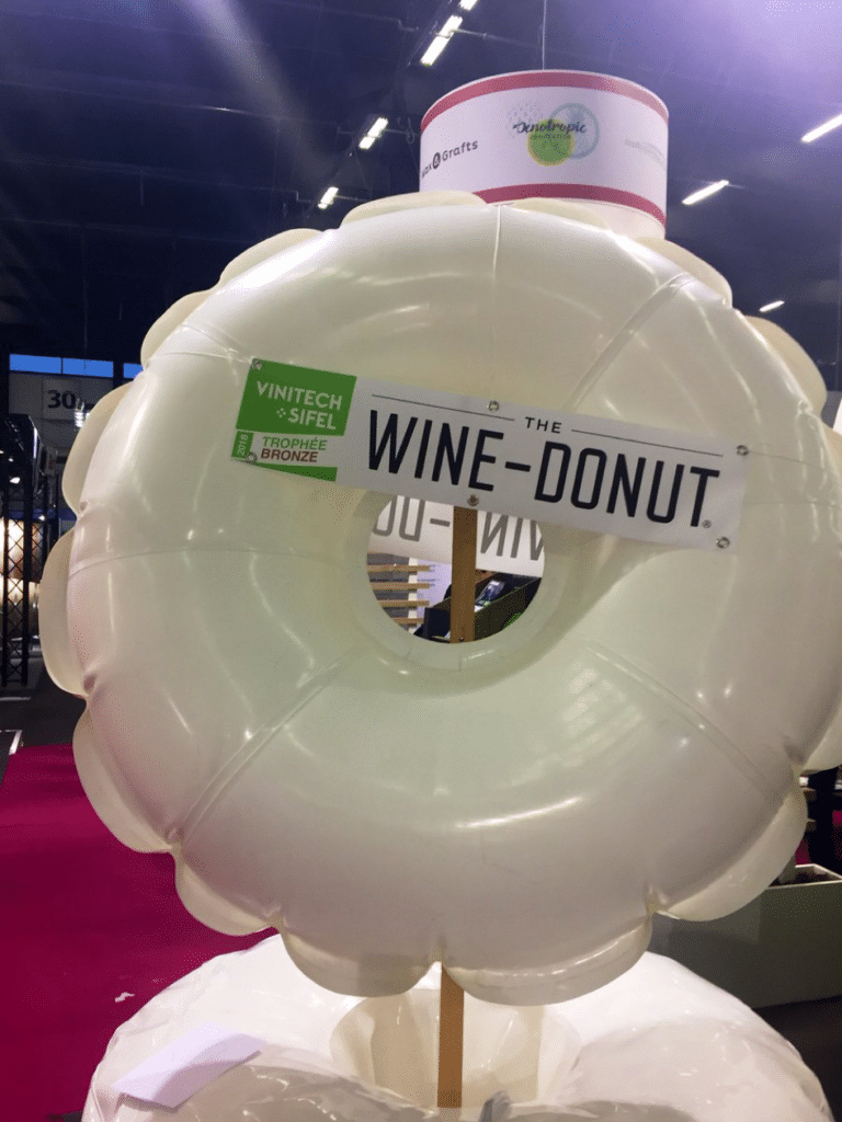 wine donut by wine and tools